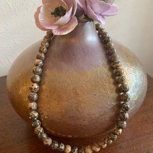 Vintage Unique Beaded Necklace